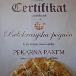 Certifikat za belokranjsk pogačo